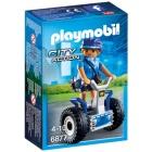 Játék: Playmobil 6877 - Rendőrnő kétkerekű járgánnyal