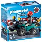 Játék: Playmobil 6879 - Műkincsrabló szuper kvadján