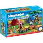 Játék: Playmobil 6888 - Tábortüzes vadkemping