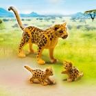 Játék: Playmobil 6940 - Leopárd és kicsinyei