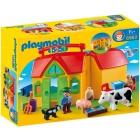 Játék: Playmobil 6962 - Hordozható tanyácskám