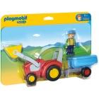 Játék: Playmobil 6964 - Pali bácsi traktoron