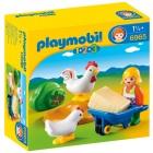 Játék: Playmobil 6965 - Kakasszótól hangos az udvar