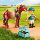 Játék: Playmobil 6971 - Pilleszárny és lovasa