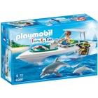 Játék: Playmobil 6981 - Delfinekkel búvárkodom