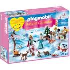 Játék: Playmobil 9008 - Adventi naptár - Korcsolyázik a királyi család