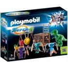 Játék: Playmobil 9006 - Földönkívüli harcos T-Rex csapdával