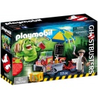 Játék: Playmobil 9222 - Slimer hot-dog standdal