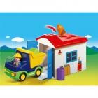 Játék: Playmobil 6759 - Teherautó formakereső garázzsal