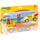 Játék: Playmobil 6761 - Versenyautó trélerrel