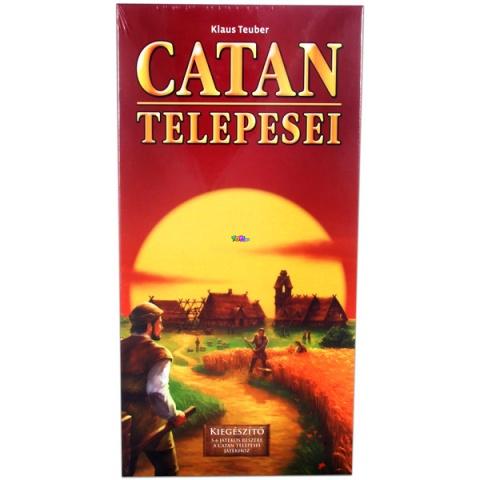 Catan Kiegészítő szett 5-6 játékos részére