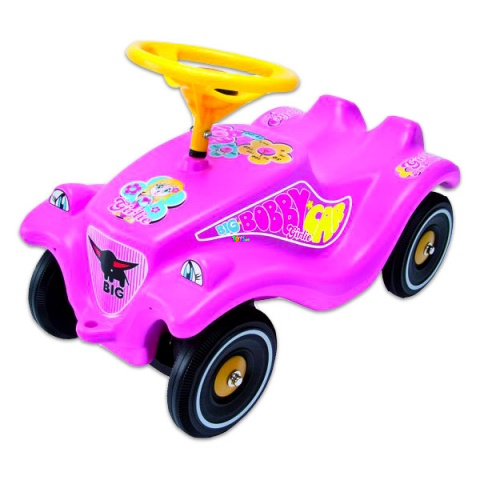 BIG Bobby Car Classic - rózsaszín