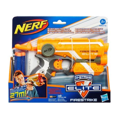 NERF N-Strike Elite - Firestrike szivacslövő pisztoly, narancssárga
