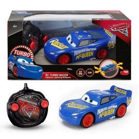 Dickie - Verdák 3 RC Turbo Csodálatos Villám McQueen