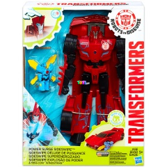 Transformers - Power Surge Sideswipe és Mini-Con Windstrike