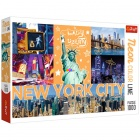 Puzzle - Neon Color Line - New York City, 1000 db