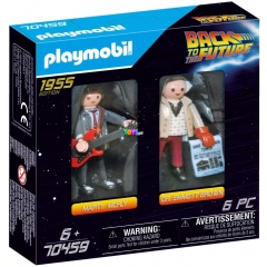 Playmobil 70459 - Back to the Future Marty Mcfly és Dr. Emmett Brown
