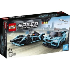 LEGO 76898 - Formula E Panasonic Jaguar Racing GEN2 car & Jaguar I-PACE eTROPHY 7