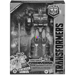 Transformers - Cyberverse Battle for Cybertron - Optimus Prime figura