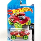 Hot Wheels Street Beasts - Beat all kisautó, piros