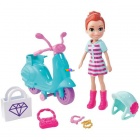 Polly Pocket - Lila robogója