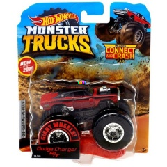 Hot Wheels Monster Trucks - Dodge Charger R/T kisautó