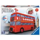 3D Puzzle - London busz, 216 db