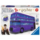 3D Puzzle - Harry Potter lila busz, 216 db