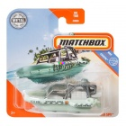 Matchbox - Coastal Sea Spy mentazöld motorcsónak