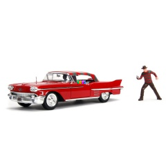Hollywood Series - Freddy Krueger & 1958 Cadillac Series 62