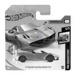 Hot Wheels - 17 Pagani Huayra Roadster, zöld