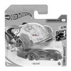 Hot Wheels - I-Believe kisautó, kék