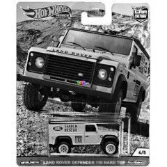Hot Wheels - Wild Terrain Land Rover Defender 110 Hard Top kisautó