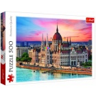 Puzzle - Budapest, 500 db