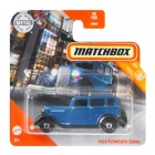 Matchbox - 1933 Plymouth Sedan kisautó, kék