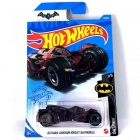 Hot Wheels Batman - Arkham Knight Batmobile kisautó, bordó