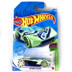 Hot Wheels Glow Racers - HW Warp Speeder kisautó
