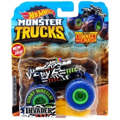 Hot Wheels Monster Trucks - Invader tank kisautó