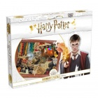 Puzzle - Harry Potter - Roxfort kollázs, 1000 db